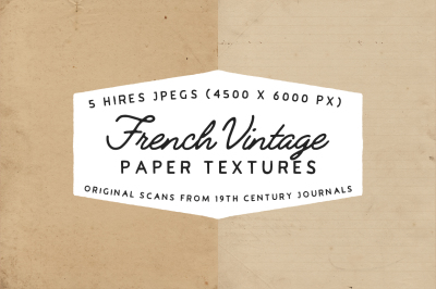 French Vintage - Paper textures
