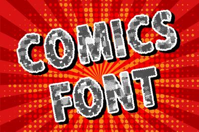 Comics font. Vol. 1