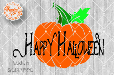 Happy Halloween Cut File ~ SVG/EPS/PNG/DXF