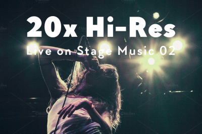 20x Hi-Res Live on Stage Music II