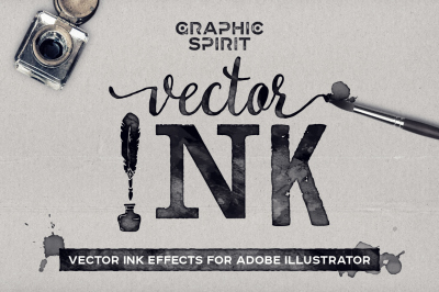 VECTOR Ink Effects For Ai