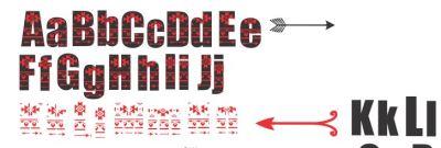 Aztec Layered Font SVG Cutting File, SVG File