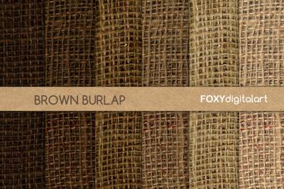 Brown Burlap Digital Paper Scrapbook