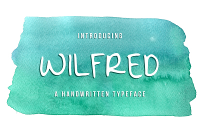 Wilfred - A Handwritten Typeface