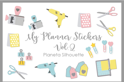 My Planner Stickers Vol 2 - .PNG