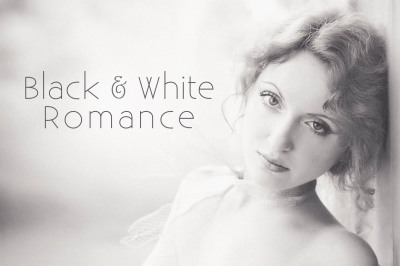 Black and White Romance Lightroom Presets