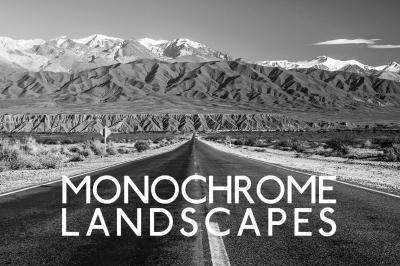 Monochrome B&W Landscape Lightroom Presets