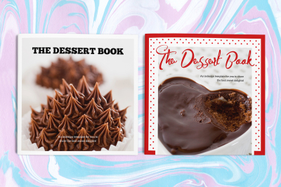The Dessert Book Indesign Template