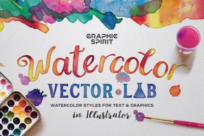 Watercolor Vector Lab