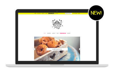 Holly Foody: WooCommerce Theme for food bloggers, Genesis child theme