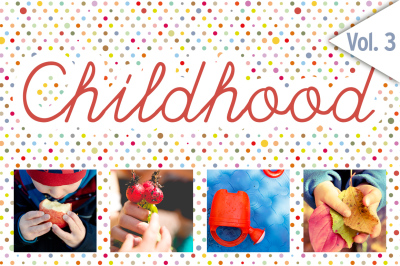 CHILDHOOD /Set 3/ 48x HiRes Images