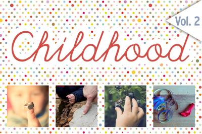 CHILDHOOD /Set 2/ 48x HiRes Images