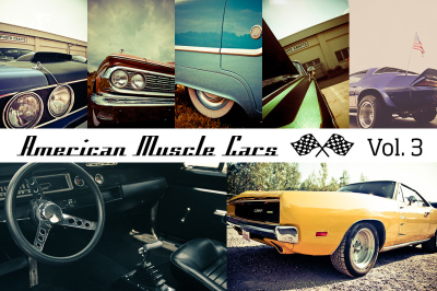 American Muscle Cars Vol. 3 (12x)