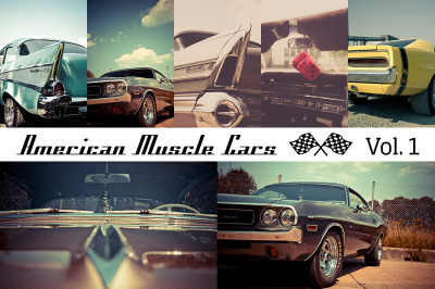 American Muscle Cars Vol. 1 (12x)