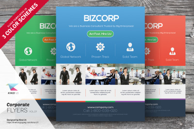 Corporate Flyer Template Vol.01