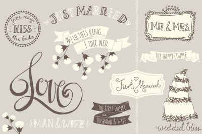 Wedding Overlays / Photoshop Brushes
