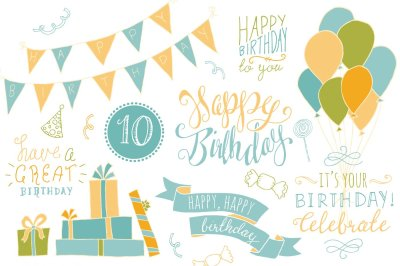 Happy Birthday Overlays