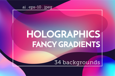 Holographic backgrounds set