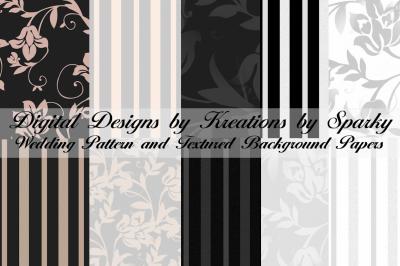 Wedding Pattern Digital Papers