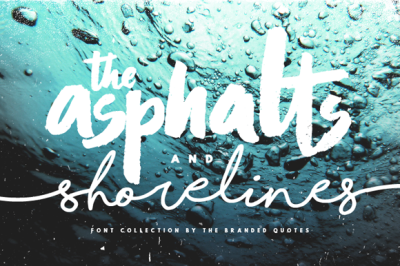 Asphalts and Shorelines - Collection