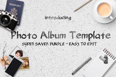 Photo Album Templates Bundle