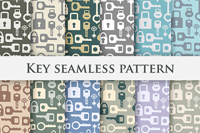 Seamless key repeating patterns