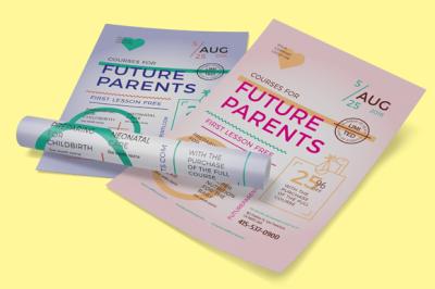 Future Parents Poster Template