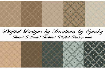 Raised Pattern Texture Digital Paper