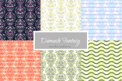 Damask Fantasy Patterns