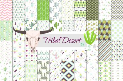 50 Desert and Tribal patterns