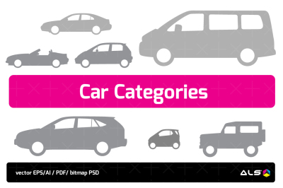 Car Categories Icons