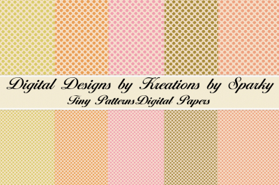 Tiny Pattern Digital Papers