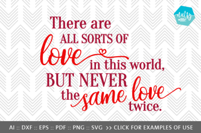 Same Love Twice - SVG, PNG & VECTOR Cut File