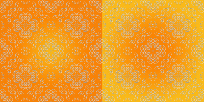 Abstract images of flowers, seamless pattern