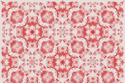 Abstract images of flowers, pattern