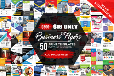 50 New Business Flyer Bundle