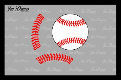 Baseball SVG DXF EPS PNG