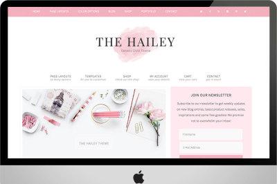 The Hailey | Wordpress Theme