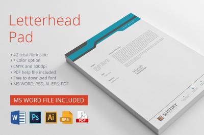 Letterhead Pad