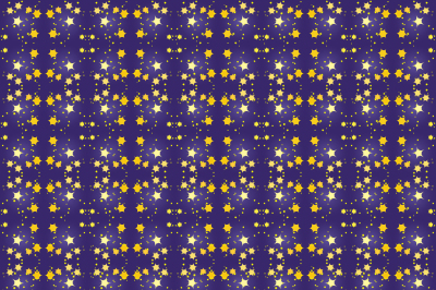 Seamless pattern, stars, two files, a JPEG for printing and EPS