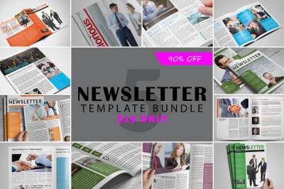 Newsletter Template Bundle