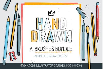 450+ AI Brushes BUNDLE!
