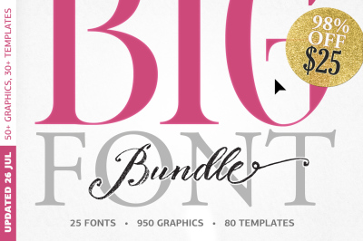BIG BUNDLE by BlessedPrint