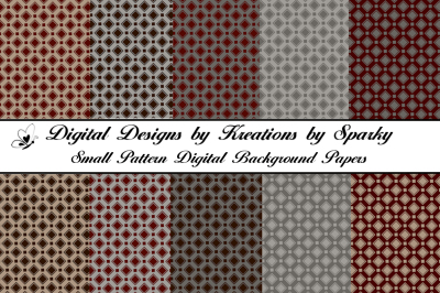 Small Pattern Digital Background Papers