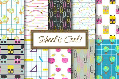 School is Cool pattern pack