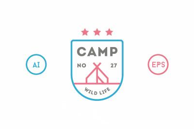 20 Line Badges