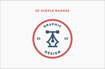 20 Simple Badges
