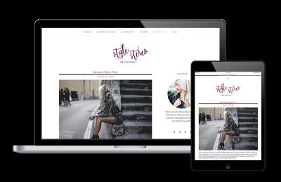 Stereo Fashion Blog WordPress Genesis Theme