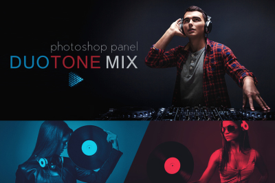 DuoTone Mix Photoshop Panel