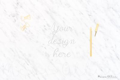 Styled desktop photography